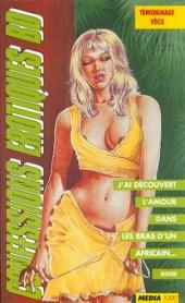 Confessions érotiques BD (Média 1000) -86- Nadine : J'ai découvert l'amour dans les bras d'un Africain...
