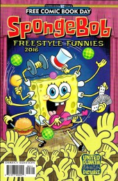 Free Comic Book Day 2016 - SpongeBob Freestyle Funnies 2016