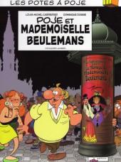 Les potes à Poje -2- Poje et Mademoiselle Beulemans