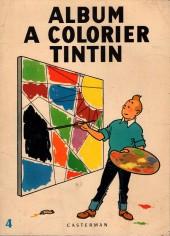 Tintin (Album à colorier) -3/04b- album à colorier Tintin
