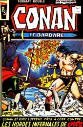 Conan le barbare (Éditions Héritage) -1- Les hordes infernales de chaos