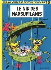 Spirou et Fantasio -12h08- Le nid des Marsupilamis