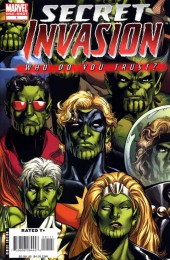 Secret Invasion (2008) -HS- Secret Invasion: Who Do You Trust? N°1