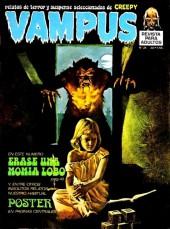 Vampus (Creepy en espagnol) -34- Erase una momia lobo