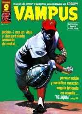 Vampus (Creepy en espagnol) -64- Reliquia