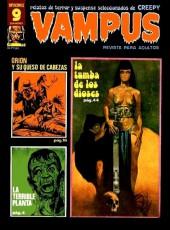 Vampus (Creepy en espagnol) -70- Orion y su queso de cabezas/La terrible planeta/La tumba de los dioses