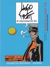 (Catalogues) Ventes aux enchères - Cornette de Saint Cyr - Cornette de Saint Cyr - Bandes Dessinées - Hugo PRATT & Originaux BD - Lundi 4 Juillet 2016