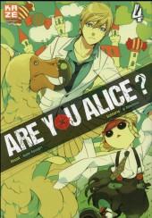 Are you Alice ? -4- Tome 4