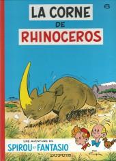 Spirou et Fantasio -6c1999- La Corne de rhinocéros