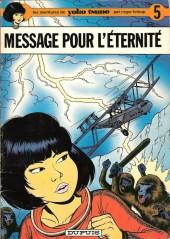 Yoko Tsuno -5a77- Message pour l'éternité