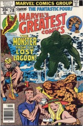 Marvel's Greatest Comics (Marvel - 1969) -78- The Monster from the Lost Lagoon!