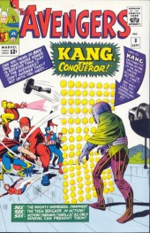 Avengers Vol. 1 (Marvel Comics - 1963) -8- Kang The Conqueror!