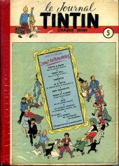 (Recueil) Tintin (Album du journal - Édition française) -5- Tintin album du journal