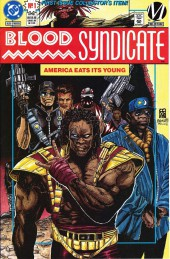 Blood Syndicate (DC comics - 1993) -1- The Big Bang Theory - Chapter 1: America eats her young
