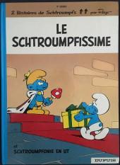 Les schtroumpfs -2b85- Le schtroumpfissime (et schtroumpfonie en ut)