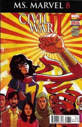Ms. Marvel (2016) -8- Civil War II - Ms. Marvel