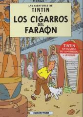Tintin (en langues régionales) -4Occitan la- Los cigarros del faraon