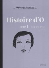 Les grands Classiques de la Bande Dessinée érotique - La Collection -1121- Histoire d'O - tome 1