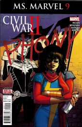 Ms. Marvel (2016) -9- Civil War II - Ms. Marvel