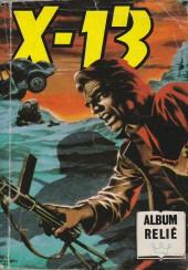 X-13 agent secret -Rec75- Collection reliée N°75 (du n°432 au n°435)