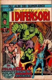 Albi dei Super-Eroi (Gli) -1- I DIFENSORI: Le Origini dei Difensori