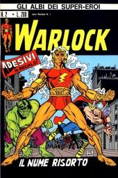 Albi dei Super-Eroi (Gli) -2- WARLOCK: Il Nume Risorto