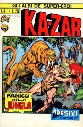 Albi dei Super-Eroi (Gli) -4- KA-ZAR: Panico nella Jungla