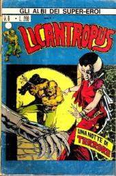 Albi dei Super-Eroi (Gli) -6- LICANTROPUS: Una Notte di Terrore