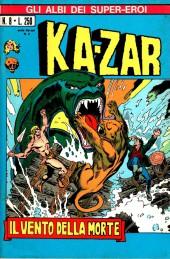 Albi dei Super-Eroi (Gli) -8- KA-ZAR: Il Vento della Morte