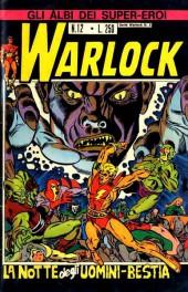 Albi dei Super-Eroi (Gli) -12- WARLOCK: La Notte degli Uomini Bestia