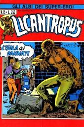 Albi dei Super-Eroi (Gli) -15- LICANTROPUS: L'Isola dei Dannati