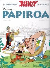 Astérix (en langues régionales) -36Basque- Zesarren PAPIROA