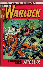 Albi dei Super-Eroi (Gli) -23- WARLOCK: L'Eclisse dell'Apollo!