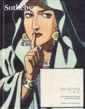 (Catalogues) Ventes aux enchères - Divers - Sotheby's - Collection J.-A.S. Les grands maîtres de la banse dessinée - 24 octobre 2015 - Paris