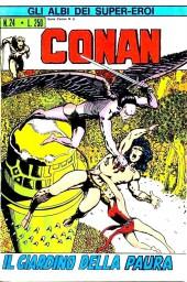 Albi dei Super-Eroi (Gli) -24- CONAN: Il Giardino della Paura
