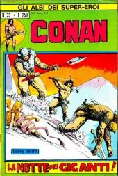 Albi dei Super-Eroi (Gli) -33- CONAN: La Notte dei Giganti
