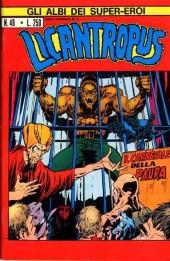 Albi dei Super-Eroi (Gli) -48- LICANTROPUS: Il Carnevale della Paura