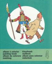 Tintin (Album à colorier) -5/04- Album à colorier n°4