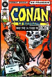Conan le barbare (Éditions Héritage) -47- Le maître des lions!