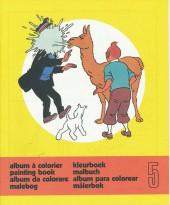 Tintin (Album à colorier) -5/05- Album à colorier n°5