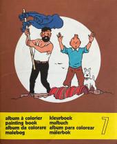 Tintin (Album à colorier) -5/07- Album à colorier n°7