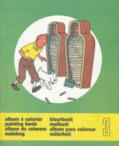 Tintin (Album à colorier) -5/03- Album à colorier n°3