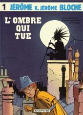 Jérôme K. Jérôme Bloche -1a1986- L'ombre qui tue