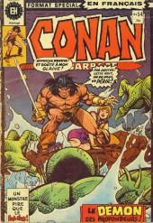 Conan le barbare (Éditions Héritage) -54- Le démon sorti des profondeurs!