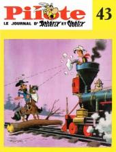 (Recueil) Pilote (Album du journal - Édition française cartonnée) -43- Reliure N°43