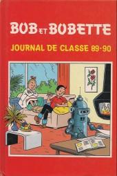 Bob et Bobette -HS- Journal de classe 89-90