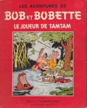 Bob et Bobette -10a1956- Le joueur de tamtam