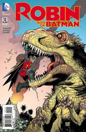 Robin: Son of Batman (2015) -12- Rumble at the end of the world