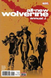 All-New Wolverine (2016) -AN01- All-New Wolverine Annual