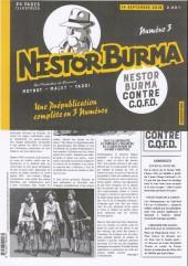 Nestor Burma (Feuilleton) -6- Nestor Burma contre C.Q.F.D. - Numéro 3